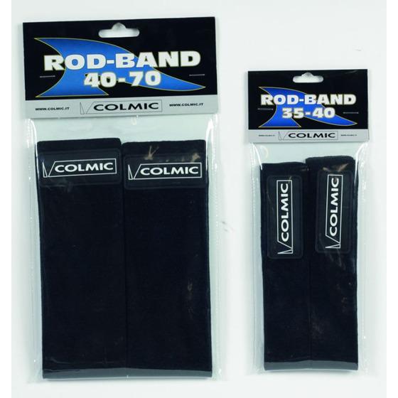 Colmic Abrazaderas para Atar las Cañas Rod Band Eva