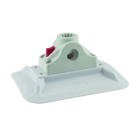 Colmic Reggicanna da Barca Button Fast Block And PVC Base