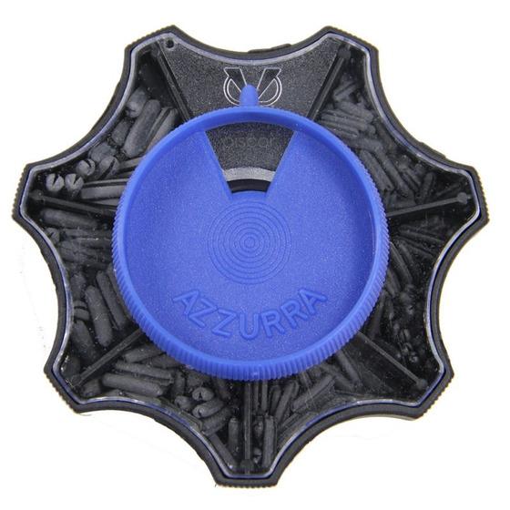 Contumax Mascotte Plomos Partidos con Forma de Olivas Caja Pequeña Azul