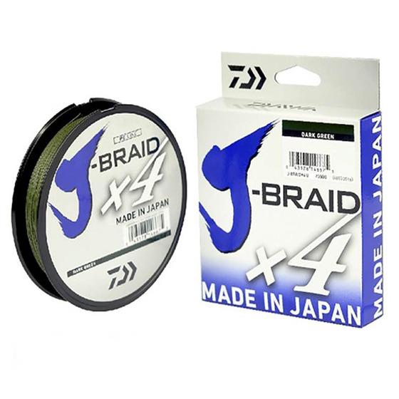 Daiwa J - Braid X4 450 M Dark Green
