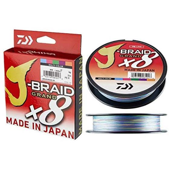 Daiwa J-braid Grand X8 500 M Multicolor