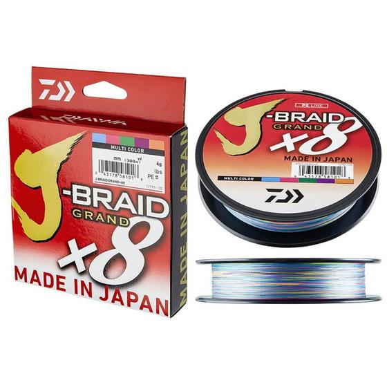Daiwa J-Braid Grand X8 Multicolor