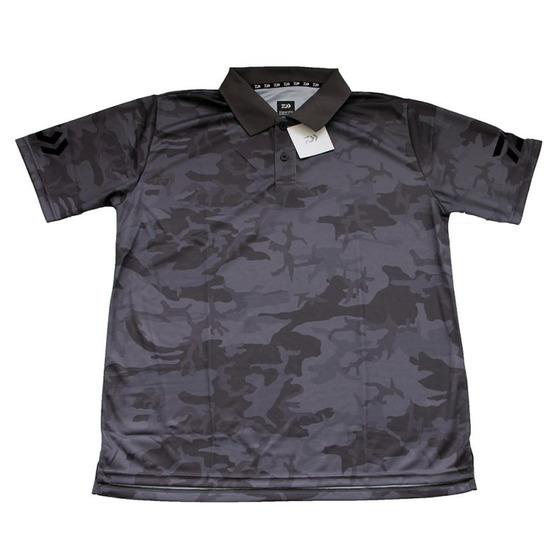 Daiwa Polo T-shirt Gray Camo