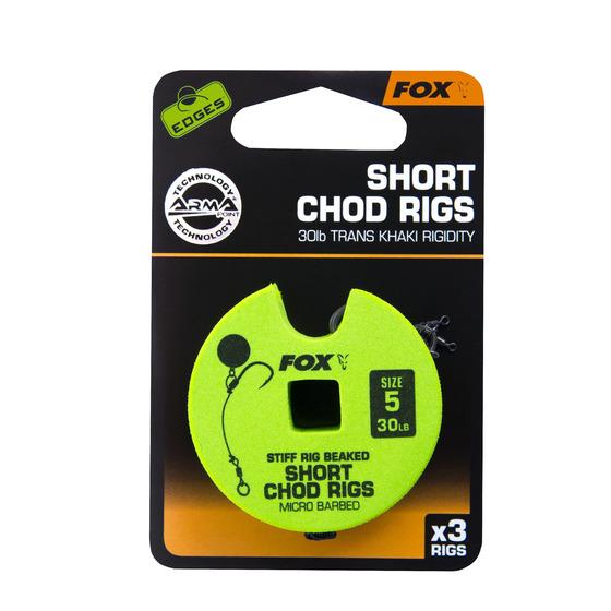 Fox Edges Chod Rigs - Short