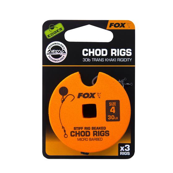 Fox Edges Chod Rigs - Standard