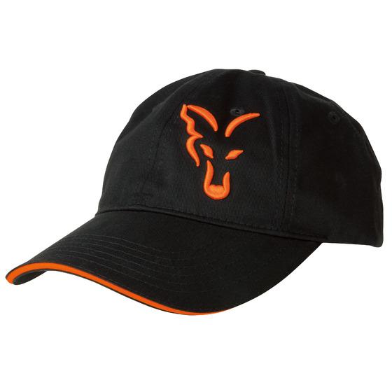 Fox Fox Black & Orange Baseball Cap