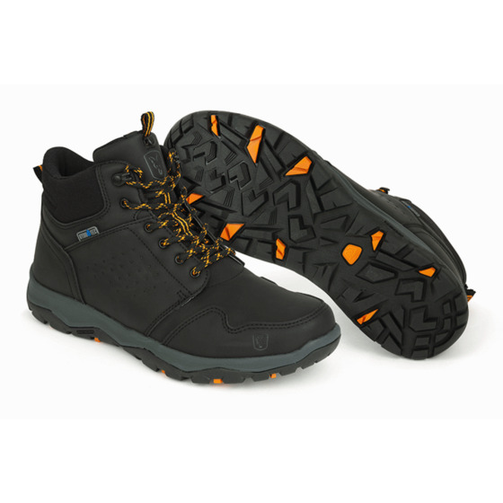 Fox Fox Collection Black & Orange Mid Boots
