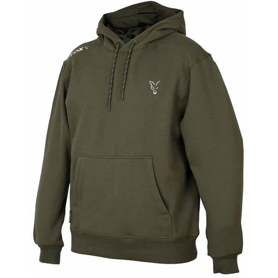 Fox Fox Collection Green & Silver Hoodie