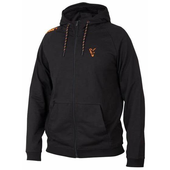Fox Fox Collection Orange & Black Lightweight Hoodie