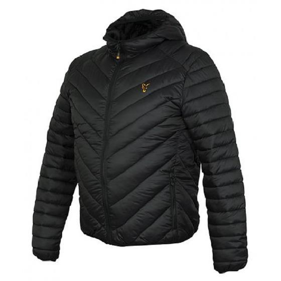 Fox Fox Collection Quilted Jacket Black/orange