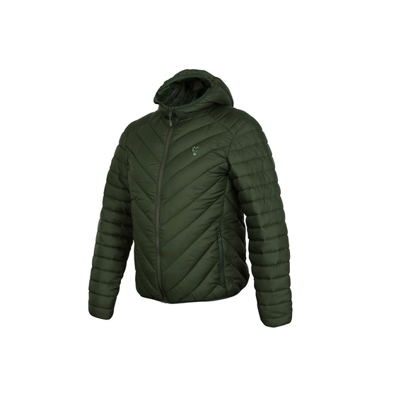 Fox Fox Collection Quilted Jacket Green/silver