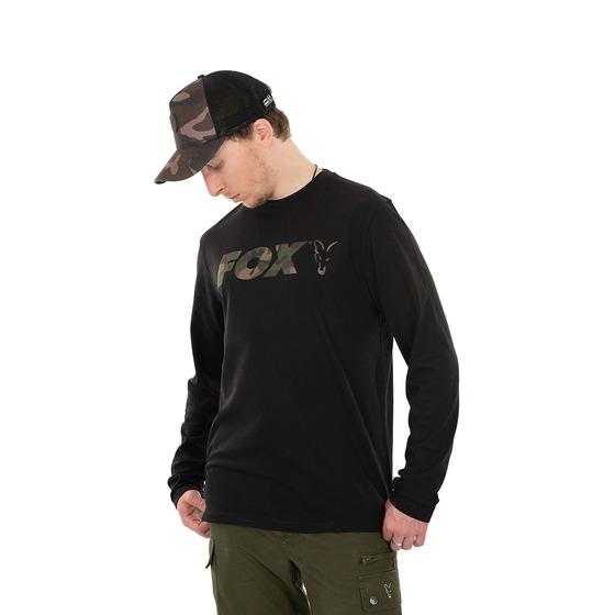 Fox Long Sleeve Black/camo T-shirt