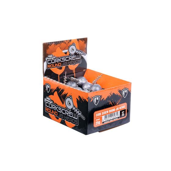 Fox Rage Bulk Cork Screw Jig Heads Boxes