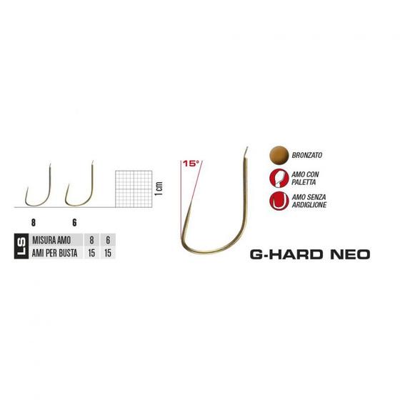 Gamakatsu Hameçons G Hard Neo LS 7077 B