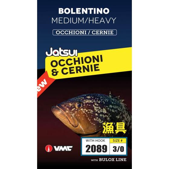 Jatsui Bolentino Medium-heavy Occhioni E Cernie