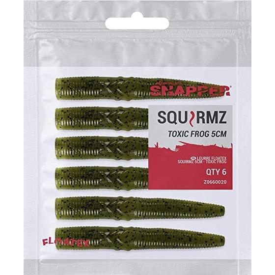 Korum Floatex Squirmz 7,5 Cm