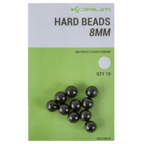 Korum Hard Beads 8mm