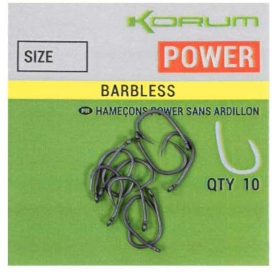 Korum Xpert Power Barbless