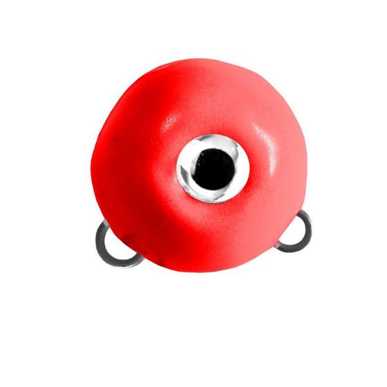 M2 Fishing Magic Ball con Doppio Gancio Rosso Fosforescente