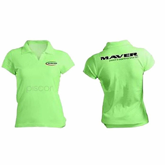 Maver Polo Cotone Verde Mela