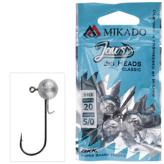 Mikado Jig Head Jaws Classic 3g