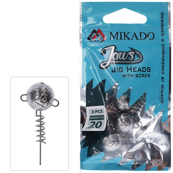 Mikado Lead Head Jaws With Screw