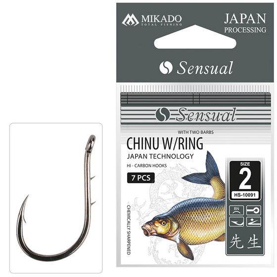 Mikado Sensual Chinu Ring With Barbs
