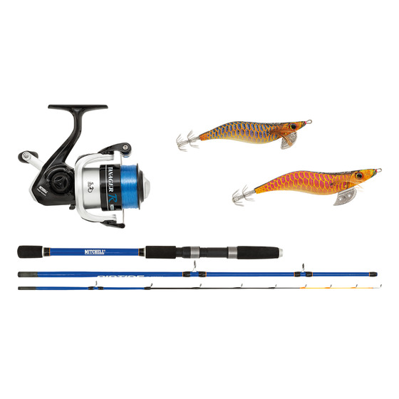 Mitchell Riptide R Squid Combo