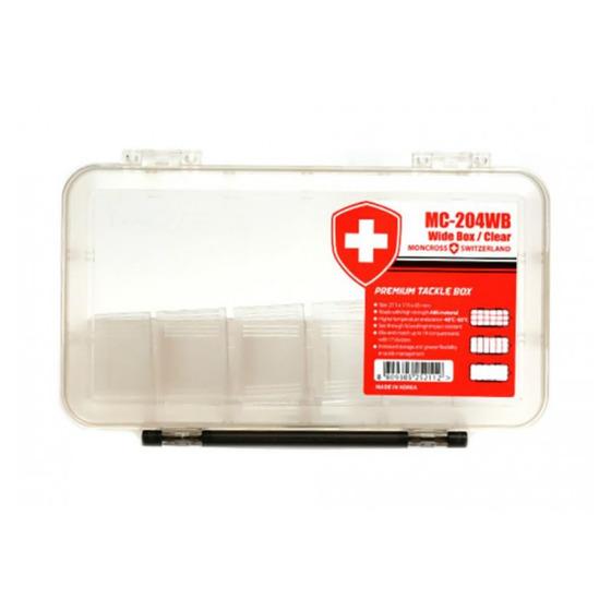 Moncross Switzerland Tackle Box Mc 204 Wb