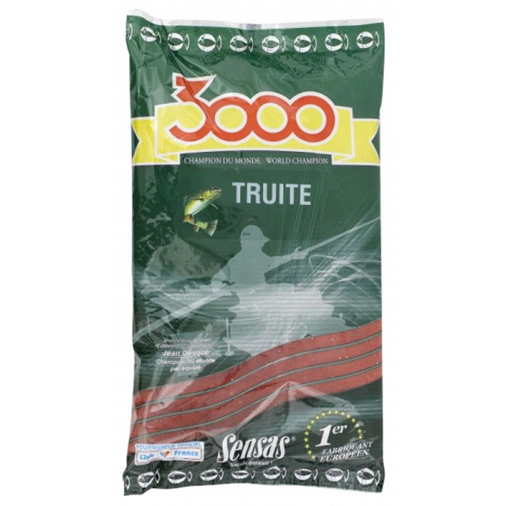 Sensas 3000 Trout Red With Pellet