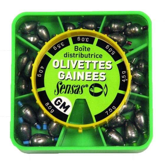 Sensas Oval Olivettes Dispenser Box