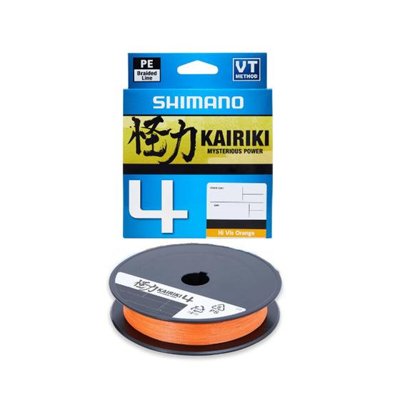 Shimano Kairiki 4 Hi Vis Orange 3000 M