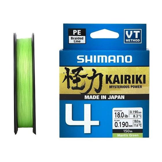 Shimano Kairiki 4 Mantis Green 150 M