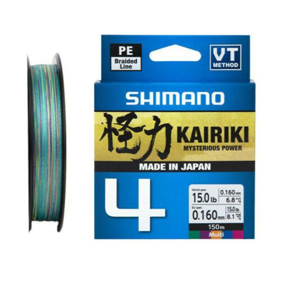 Shimano Kairiki 4 Multi Color 150 M