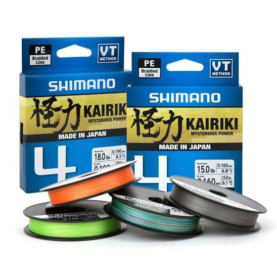 Shimano Kairiki 4 Steel Gray 150 M