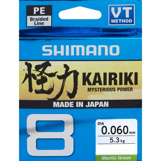 Shimano Kairiki 8 - Mantis Green 300 m