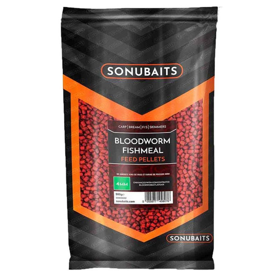 Sonubaits Bloodworm Fishmeal Feed Pellets