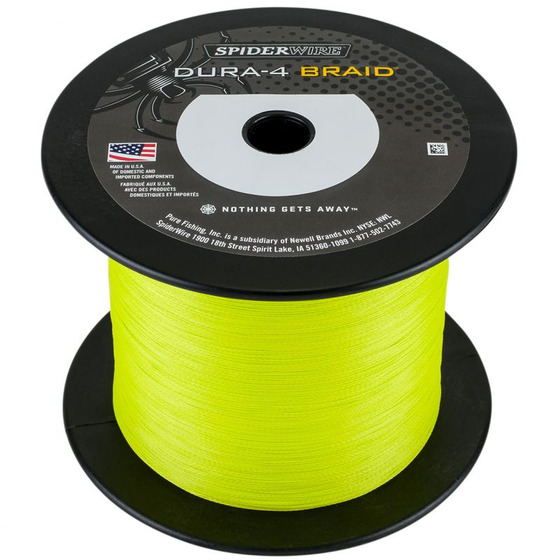 Spiderwire Dura 4 Yellow