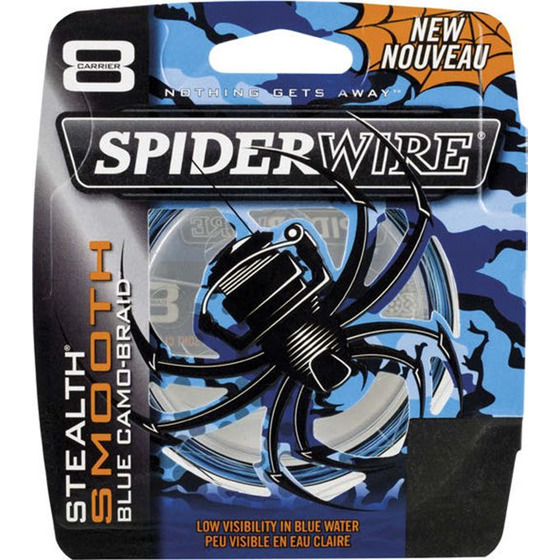 Spiderwire Stealth Smooth 8 Blue Camo