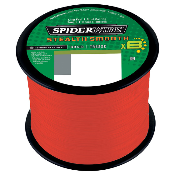 Spiderwire Stealth Smooth8 Code Red 2000 M