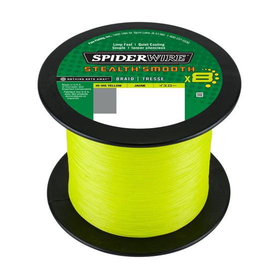 Spiderwire Stealth Smooth8 Hi-vis Yellow 2000 M