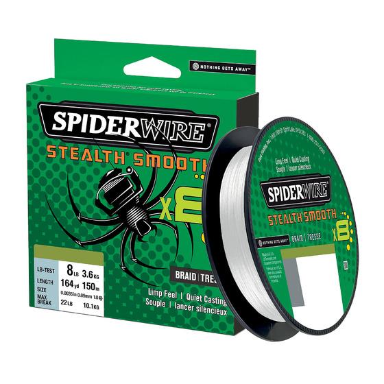 Spiderwire Stealth Smooth8 Translucent 150 M