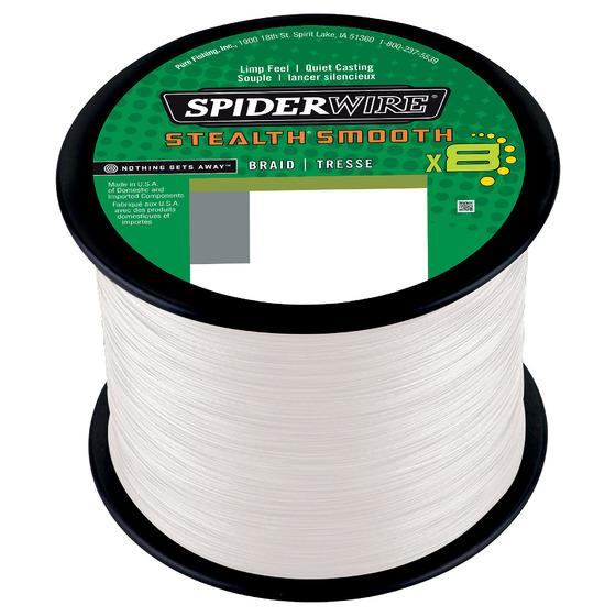Spiderwire Stealth Smooth8 Translucent 2000 M