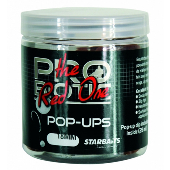 Starbaits Probiotic Pop Ups The Red One