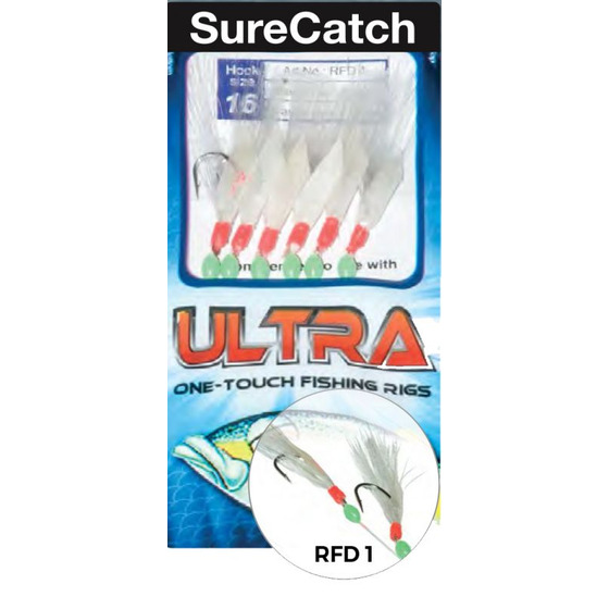 Surecatch Ultra One-touch Fishing Rigs Rfd10
