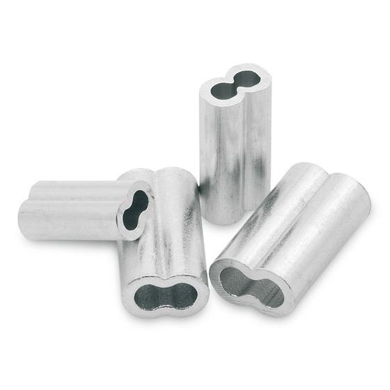 Tubertini Doppelte Schließ spannmutter aus Aluminium TB 2606