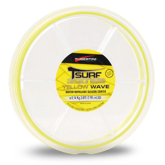 Tubertini Monofilament T-Surf Yellow