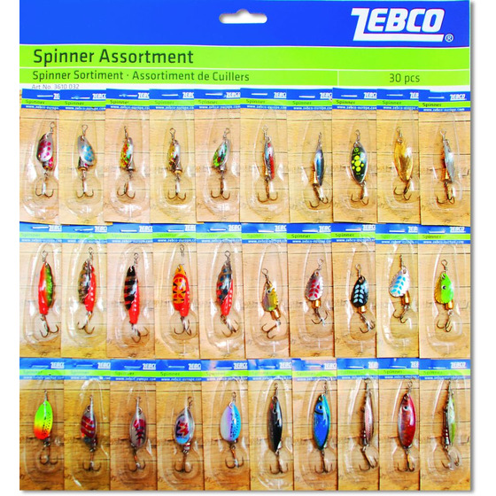 Zebco Spinner Assortment