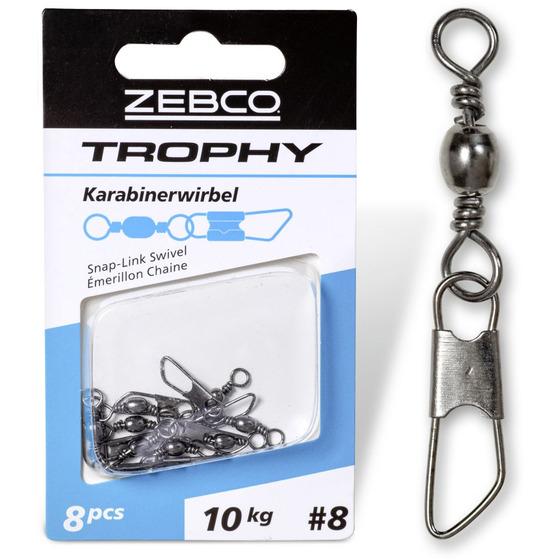 Zebco Trophy Snap-link Swivel