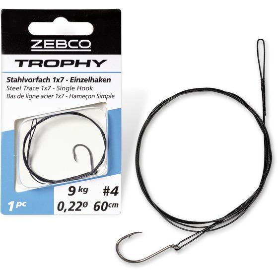 Zebco Trophy Steel Trace 1x7 - Single Hook